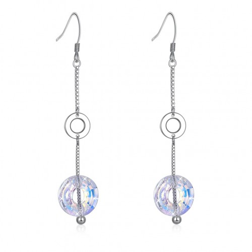 Swarovski element ring S925 sterling silver earrings