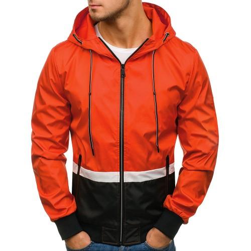 Cool Clock Block Hooded Zip Up Boys Coats